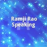 Ramji Rao Speaking