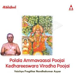 Polala Ammavaasai Poojai Kedhareeswara Viradha Poojai songs