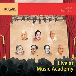 Live at Music Academy (12 Sangitha Kalanidhis) - Vol 1 songs