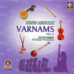 Music Lessons Varnams - Vol 2 songs