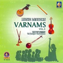 Music Lessons Varnams - Vol 3 songs