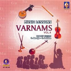 Music Lessons Varnams - Vol 4 songs