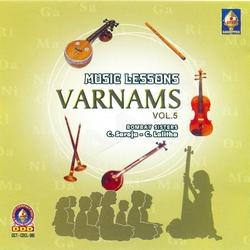 Music Lessons Varnams - Vol 5 songs
