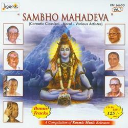Sambho Mahadeva - Vol 1 songs