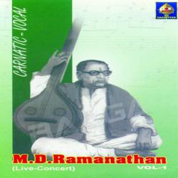 M D Ramanathan Live Concert songs