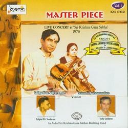Master Piece - Vol 1 Live 1970 Lalgudi Jayaraman Srimathi Brahmanandam songs