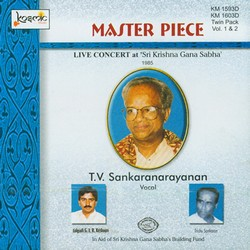 Master Piece - Vol 2 Live 1985 TV. Sankaranarayanan songs
