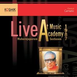 Music Acadamy Live 1987 songs