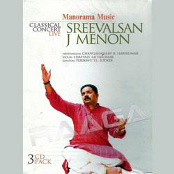 Classical Concert Live - Sreevalsan J. Menon (Vocal) songs
