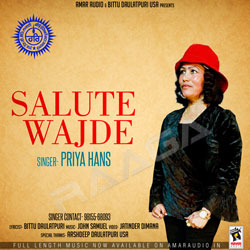 Salute Wajde songs
