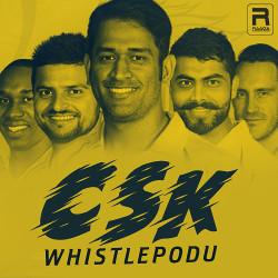 CSK Whistlepodu songs