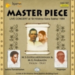 Master Piece Live 1984 MS. Gopalakrishnan M. Narmada songs