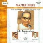 Master Piece - Vol 1 Live 1970 MD. Ramanathan songs