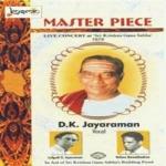 Master Piece - Vol 1 Live 1979 DK. Jayaraman songs