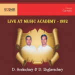Music Acadamy Live 1992 songs