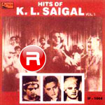 Hits Of KL. Saigal songs