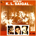 Hits Of KL. Saigal - Vol 1 songs