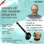Legacy Of The Maihar Gharana - Vol 11