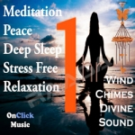 Divine Peaceful Wind Chimes for Meditation And Deep Sleep songs